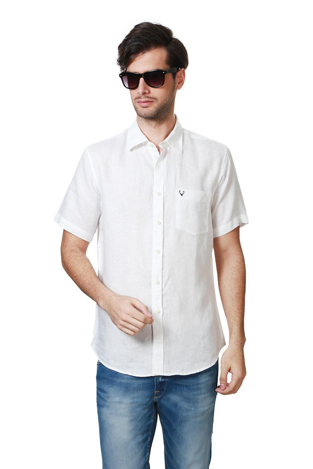7d607ee4 Allen Solly Shirts, Allen Solly White Shirt for Men at Planetfashion.in