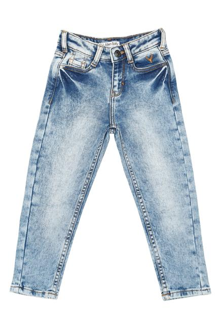 7f53be25 Allen Solly Junior Bottoms, Allen Solly Blue Jeans for Boys at ...