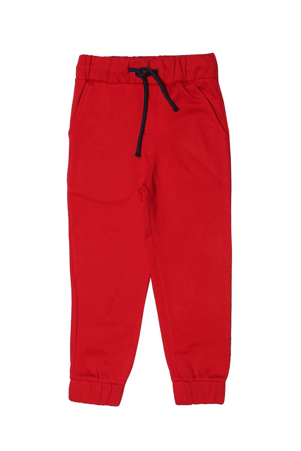 59667a31 Allen Solly Junior Bottoms, Allen Solly Red Track Pants for Boys at ...
