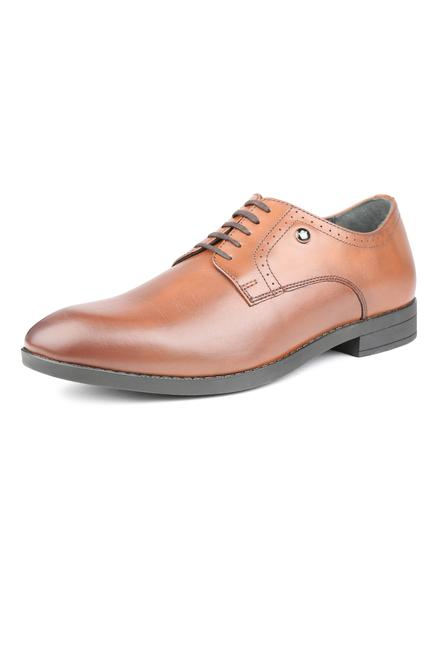 b934cb247 Louis Philippe Brown Lace Up Shoes