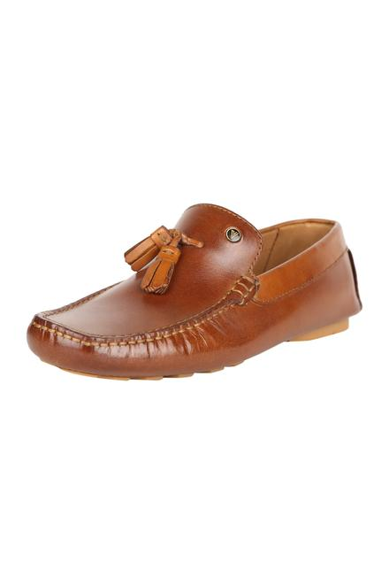 e4911a874b1a Van Heusen Footwear, Van Heusen Tan Loafers for Men at ...