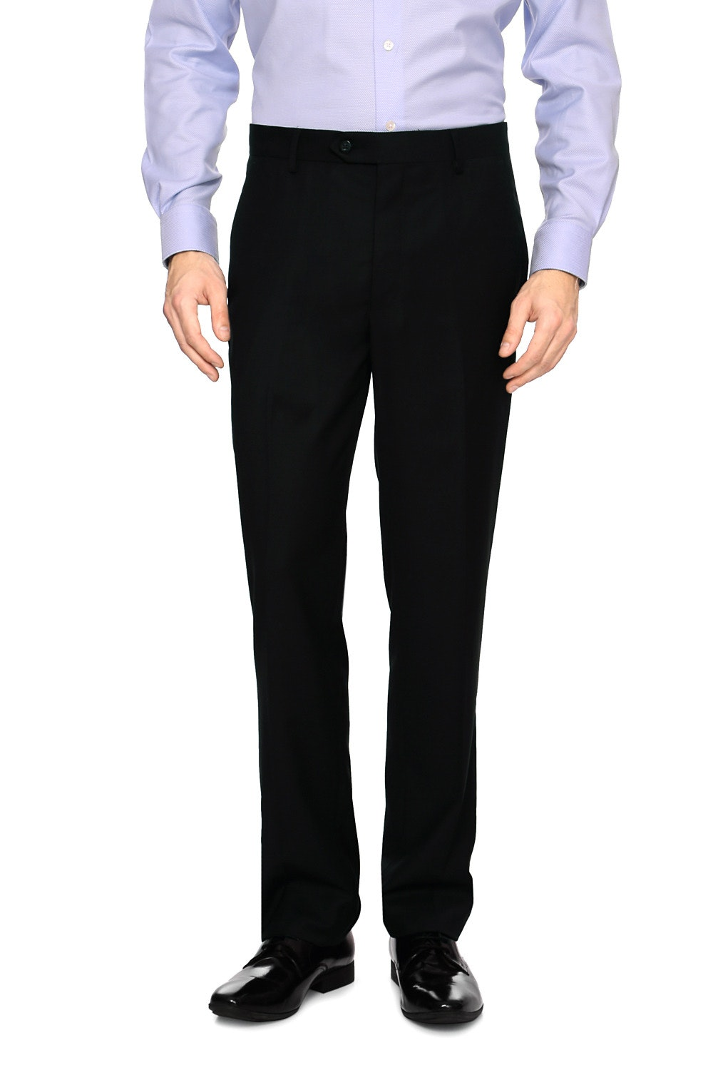 c6460b2c629 Louis Philippe Trousers & Chinos, Louis Philippe Black Trousers for ...